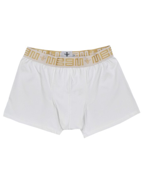 MAGIC BEE CLOTHING WHITE CHAIN RIB BOXER