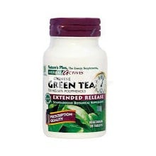 Natures Plus Green Tea 750mg, 30tabs