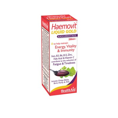 Health Aid - Haemovit Liquid Gold - 200ml