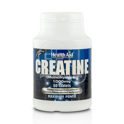 HEALTH AID - Creatine Monohydrate 1000mg - 60tabs