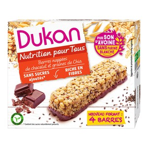 Dukan oat bars