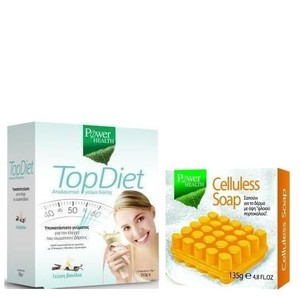 Power health top diet 350gr vanilla   doro celluless soap