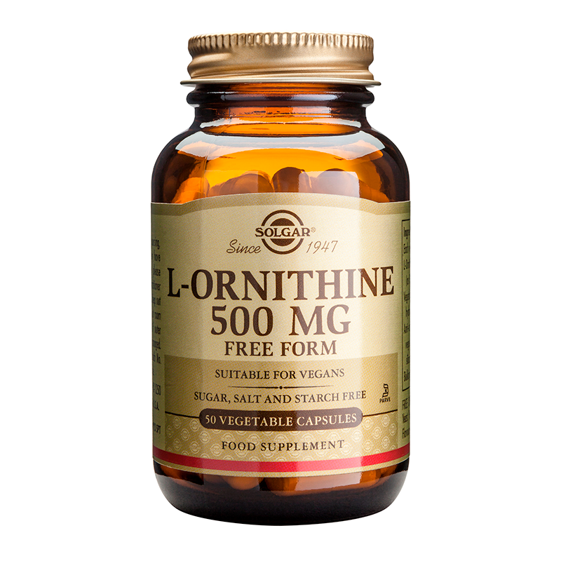 L-Ornithine 500mg veg.caps