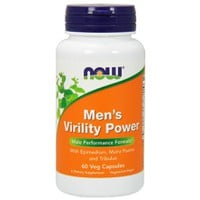 NOW MEN'S VIRILITY POWER  60VEG. CAPS