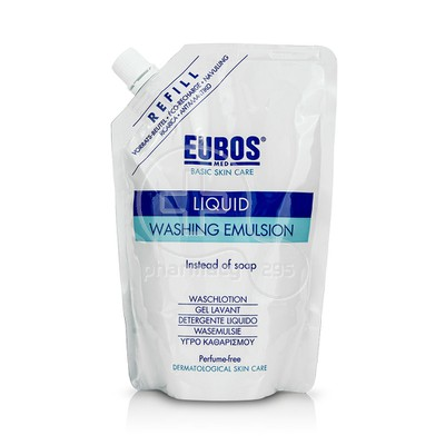 EUBOS - LIQUID Washing Emulsion Refill (χωρίς άρωμα) - 400ml