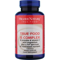 Higher Nature True Food B Complex 30 veg. tabs