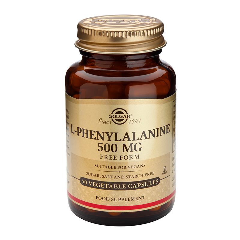 L-PHENYLALANINE 500mg veg.caps