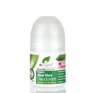 Dr Organic Deodorant roll-on aloe vera 50ml