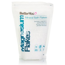 BetterYou Magnesium Mineral Bath Flakes - Νιφάδες Μαγνησίου, 1kg