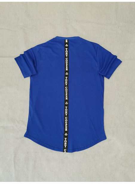 TONY COUPER BLUE GROSS T-SHIRT