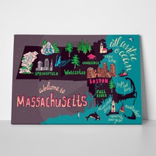 Illustrated map massachusetts 685795276 a