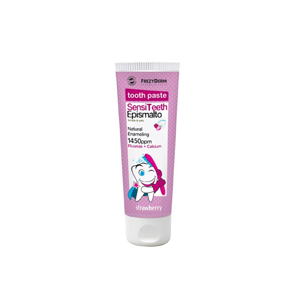 FREZYDERM KIDS SENSITEETH TOOTHPASTE 1450ppm EPISMALTO 50ML