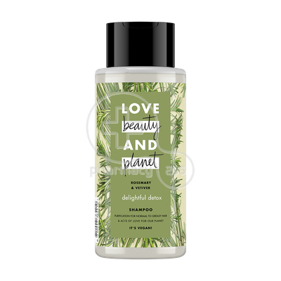 LOVE BEAUTY AND PLANET - Σαμπουάν Rosemary And Vetiver - 400ml