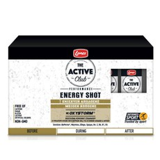 Lanes The Active Club Energy Shot με Oxystorm 10x50ml.