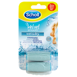 Scholl Velvet Smooth Wet & Dry Replacement In Regular Size