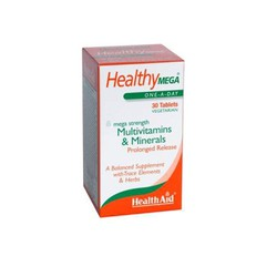 Health Aid Healthy MEGA MULTIVITAMINS & MINERALS 30tabs