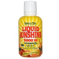 NATURES PLUS LIQUID SUNSHINE 5000 IU VITAMIN D3 CITRUS FLAVOR  473,18ML