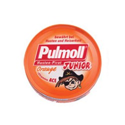Pulmoll Junior Pastilles with Orange + Vitamins A C E 45gr