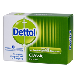 Dettol Soap Classic Μπάρα Σαπουνιού 100gr
