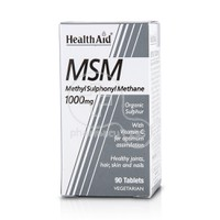 HEALTH AID - MSM 1000mg with Vitamin C - 90tabs