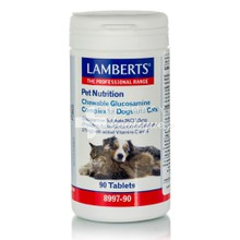 Lamberts Pet Nutrition Chewable Glucosamine Complex for Cats & Dogs - Οστά / Χόνδροι, 90 tabs