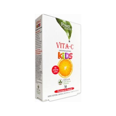 POWER HEALTH VITA-C KIDS STEVIA 30s TABS