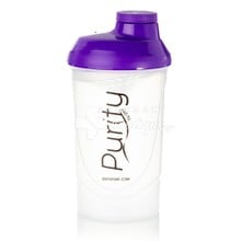QNT Shaker Purity - Μωβ, 600ml