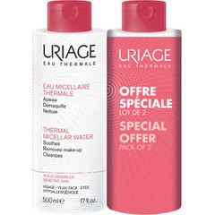 Uriage Thermal Micellar Water Sensitive Skin, 2x500ml