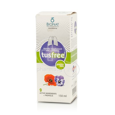 BIONAT - Tusfree Syrup - 150ml