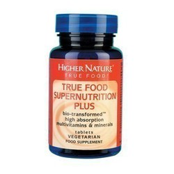 Higher Nature Supernutrition Plus 30 Vtabs