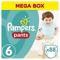 Pampers Pants Mega Pack No 6 Midi (15+kg) 88τεμ.