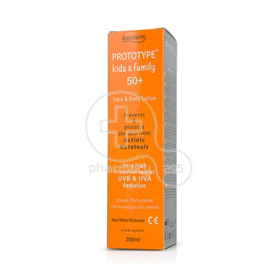 BODERM - PROTOTYPE Kids & Family SPF50+ - 200ml