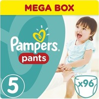 Pampers Pants Mega Pack No 5 Midi (12-17kg) 96τεμ.