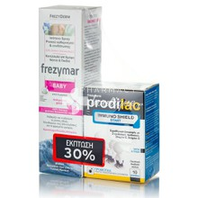 Frezyderm Σετ Frezymar BABY, 100ml & Prodilac Immuno Shield Start, 10 φακελάκια (-30%)