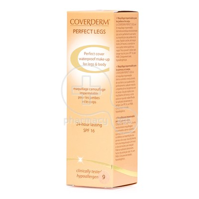 COVERDERM - PERFECT LEGS SPF16 (No9) - 50ml