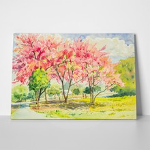 Wild himalayan cherry tree 425980525 a