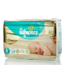 Pampers No.5 (11-18 kg) - Premium Care, 44τμχ.