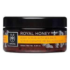 APIVITA Royal honey body scrub with sea salts 250gr