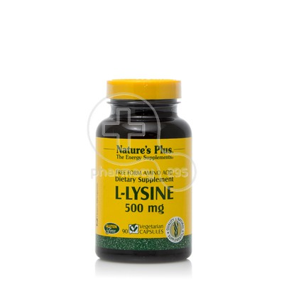NATURE'S PLUS - L-Lysine 500mg - 90caps