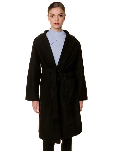 Σταυρωτό παλτό με ζώνη 0ef5ef9770a