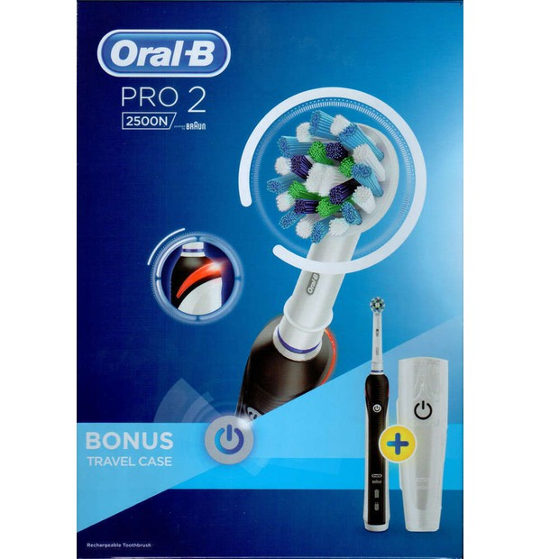 ORAL B PRO 2500 BLACK BOX 1X1