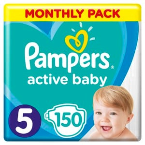 8001090911063 81678677 pampers active baby monthly pack 150tmx 01