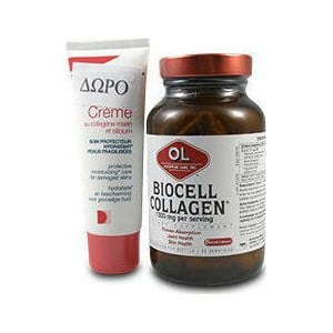 Olympian labs biocell collagen ii creme au collagene 500mg 40ml