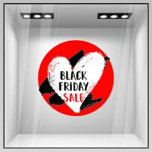 Black friday heart a