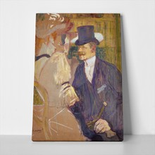 Toulouse lautrec englishman at moulin rouge 751010755 a