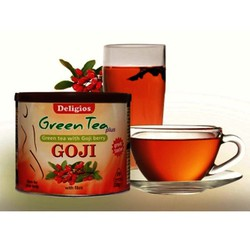 Deligios Green Tea Plus with Goji 230gr