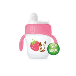 Philips Avent Cup Girl 200ml, Soft Spout 6 months + with handles