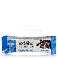 Extend Nutrition Bar Cookies & Cream - για Διαβητικούς, 42gr
