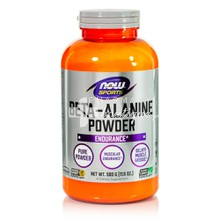 Now Sports Beta-Alanine Pure Powder (Vegetarian) - Μυική Κόπωση, 500gr