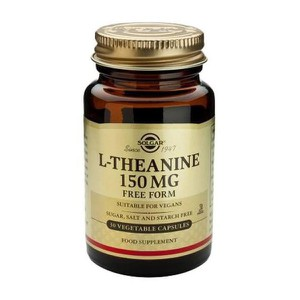 Solgar l theanine 150mg 30 vegicaps